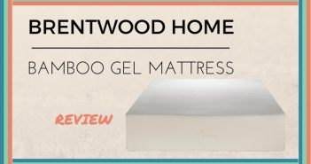 brentwood home bamboo gel memory foam mattress