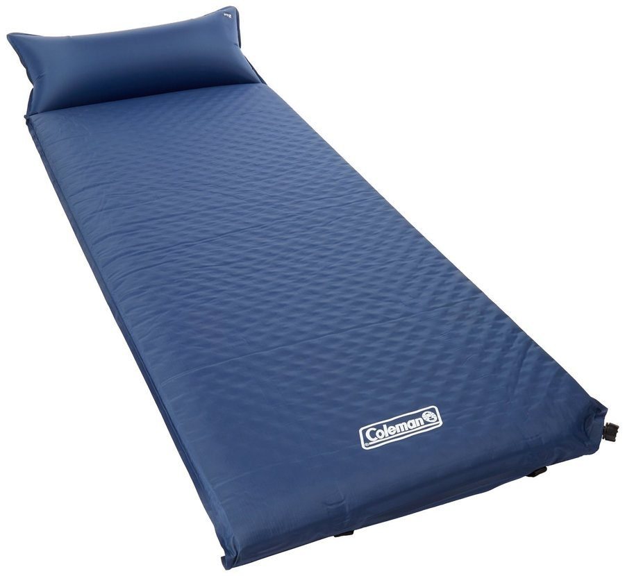 coleman self-inflating camp pad with attached pillow review