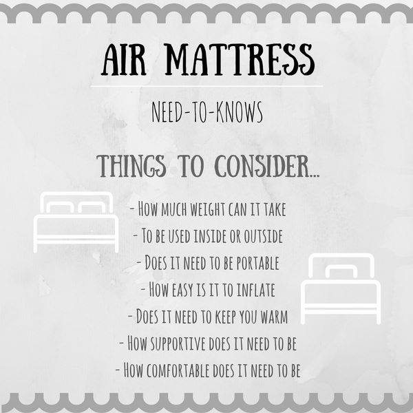 best air mattress guide