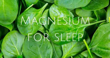 magnesium supplements for sleep