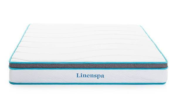 linenspa memory foam and innerspring mattress