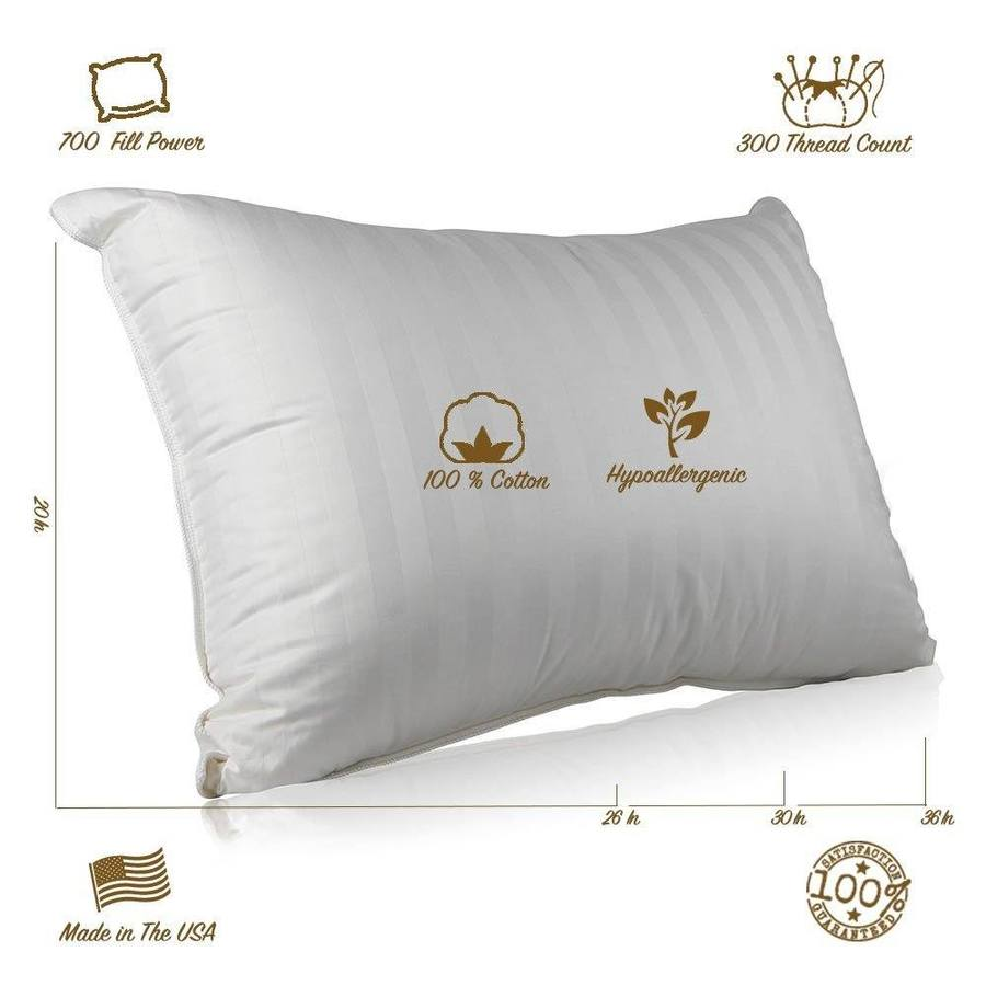continental bedding pillows