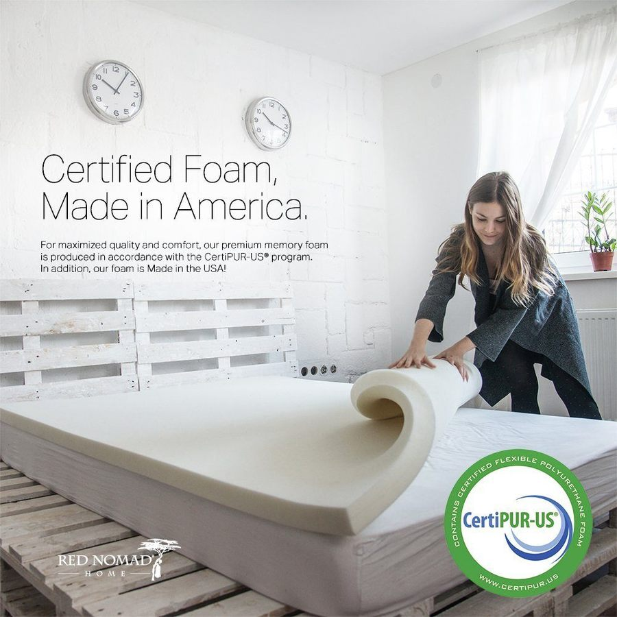 red nomad mattress topper review