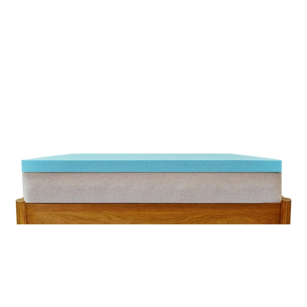 hofish 3 inch gel memory foam mattress topper