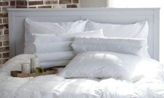 types of bed pillows